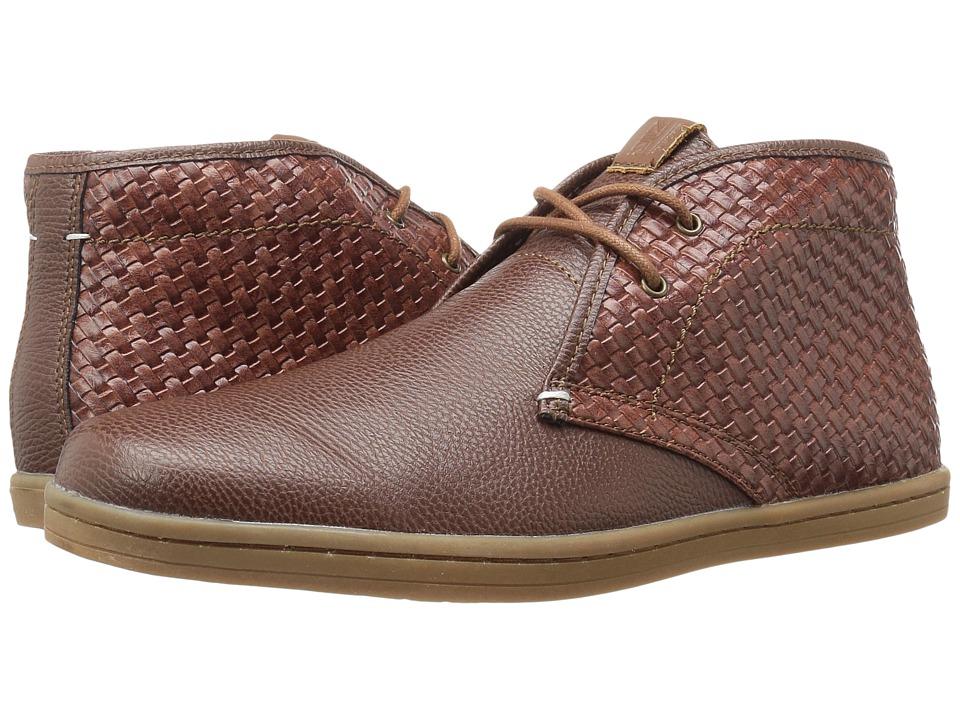 Ben Sherman - Vance (Cognac Woven) Men's Lace up casual Shoes