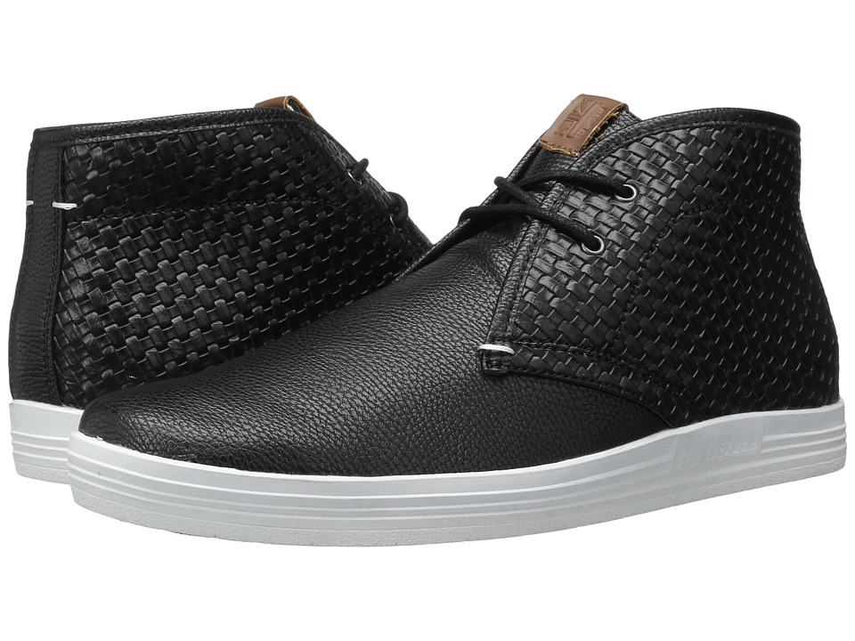 Ben Sherman - Vance (Black Woven) Men's Lace up casual Shoes
