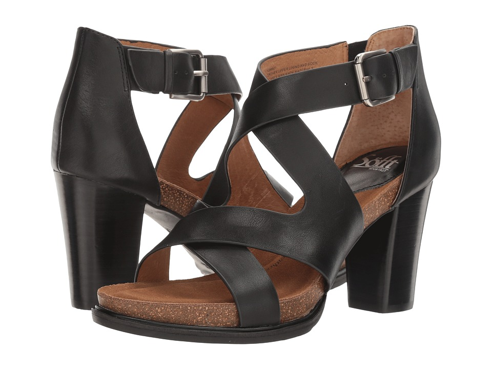 Sofft - Canita (Black Cow Oily Veg) High Heels