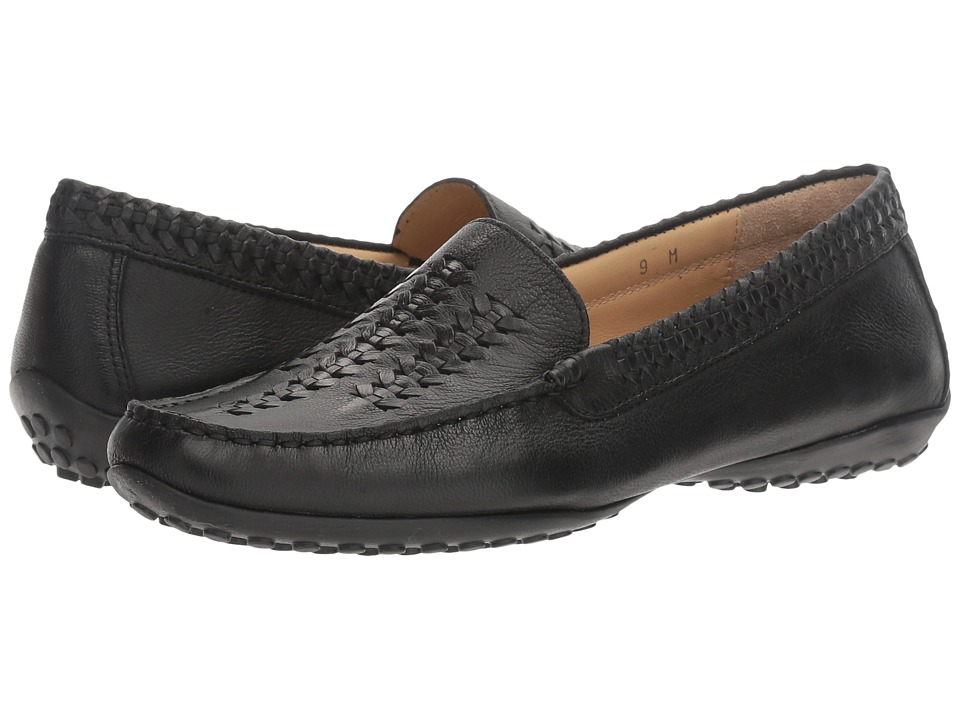 Vaneli - Adonis (Black Nubia) Women's Flat Shoes
