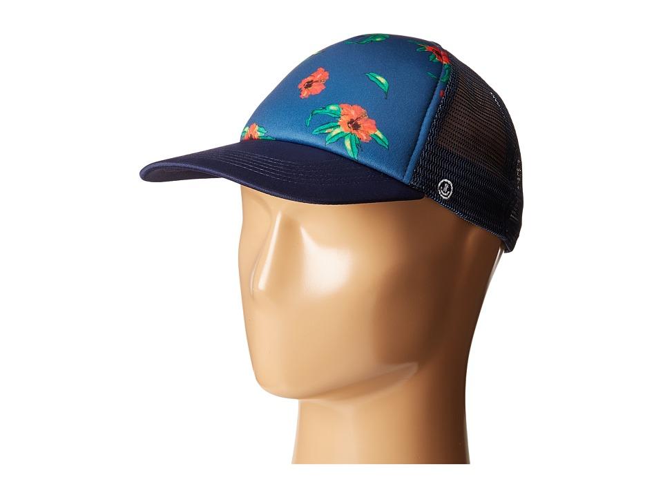 Neff - Poolside Trucker (Navy) Caps