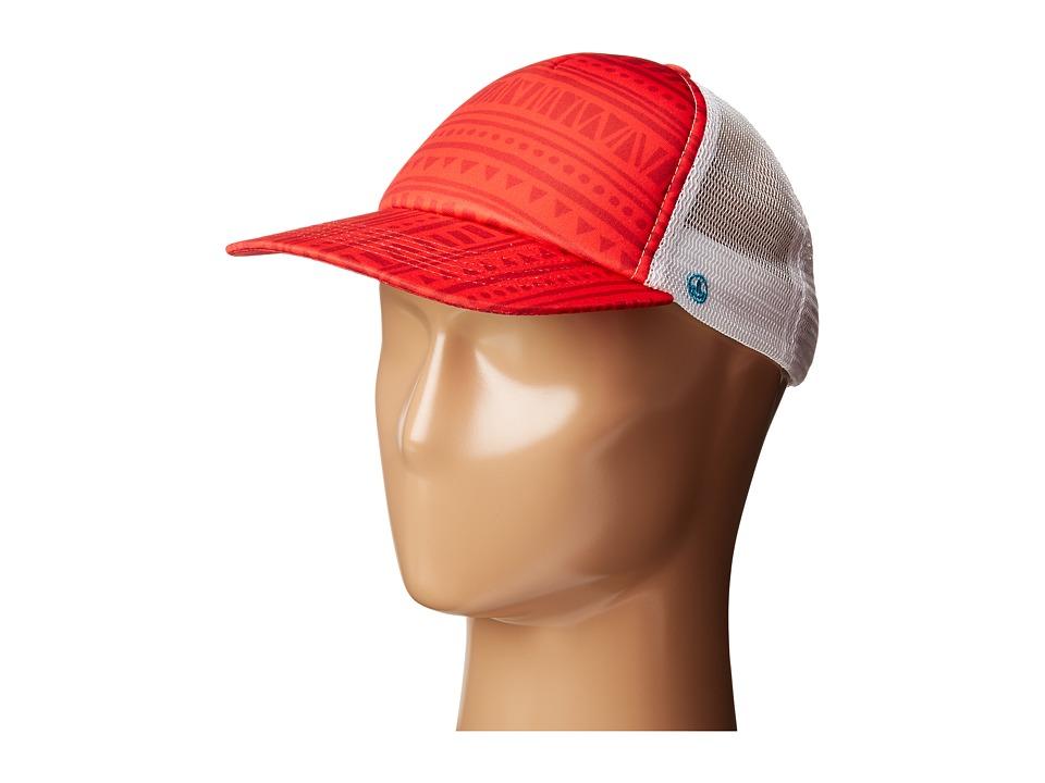 Neff - Poolside Trucker (Red) Caps
