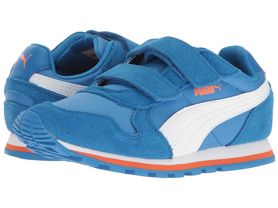 Puma Kids ST Runner NL V PS (Little Kid) (French Blue/Puma White) Boys Shoes