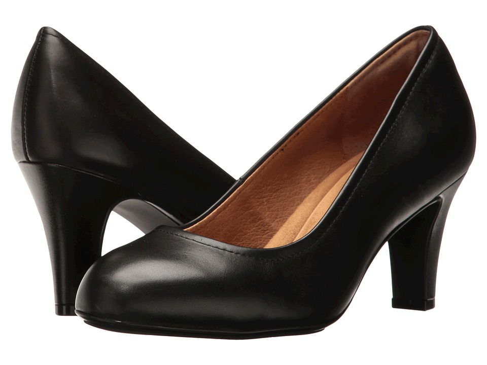 Sofft - Turin (Black Cow Quilin) High Heels