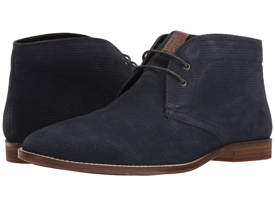 Ben Sherman - Gaston Chukka (Navy) Men's Lace up casual Shoes