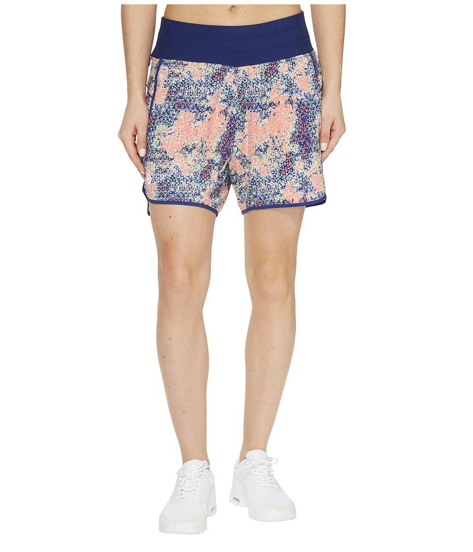 tasc Performance - Challenge 5 Shorts (Red Sky Morroc-N-Roll) Women's Shorts