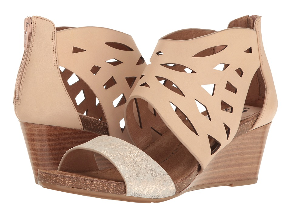 Sofft - Mystic (Blush/Ivory M-Vege/Distressed Foil Suede) Women's Sandals