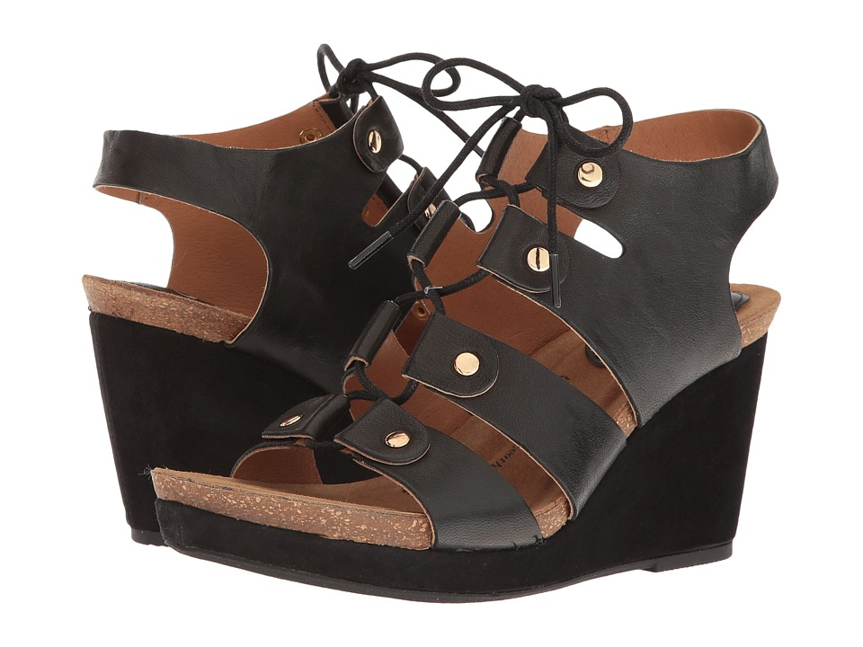 Sofft - Carita (Black Oyster/Kid Suede) Women's Sandals
