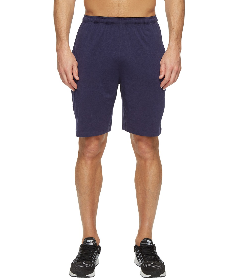 tasc Performance - Vital 9 Training Shorts (True Navy) Men's Shorts