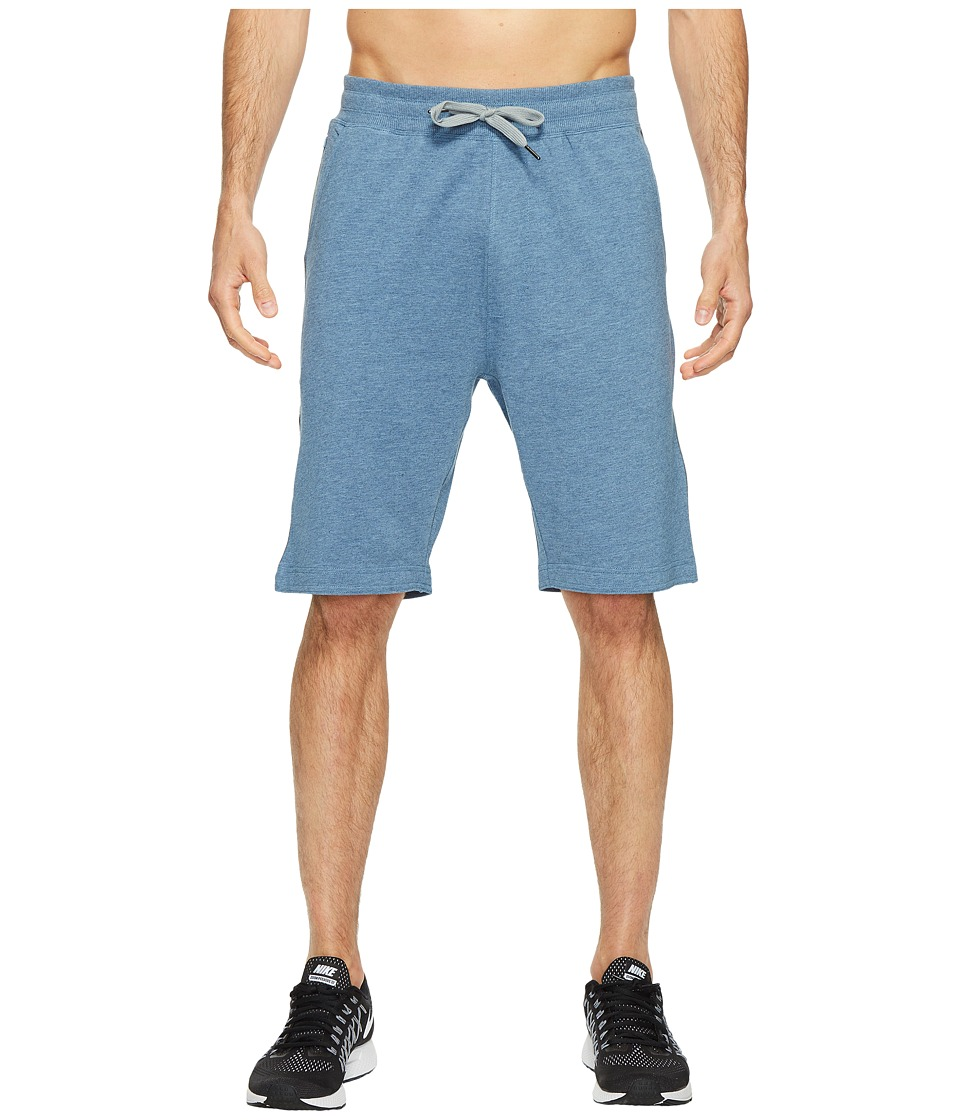 tasc Performance - Legacy 10 Gym Shorts (Indigo Heather) Men's Shorts