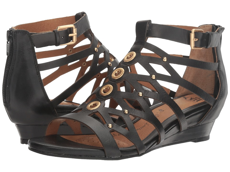 Sofft - Roslyn (Black Cow Quilin) Women's Sandals