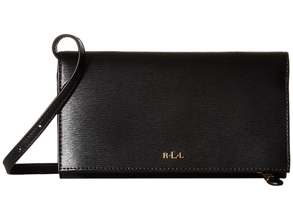 LAUREN Ralph Lauren - Newbury Kaelyn Crossbody (Black) Cross Body Handbags