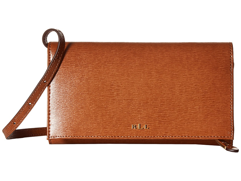 LAUREN Ralph Lauren - Newbury Kaelyn Crossbody (Lauren Tan) Cross Body Handbags