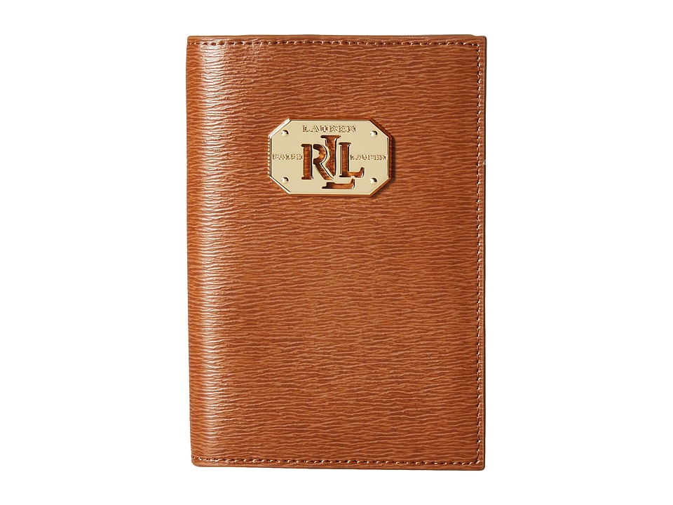 LAUREN Ralph Lauren - Newbury LRL Passport Case (Lauren Tan) Wallet
