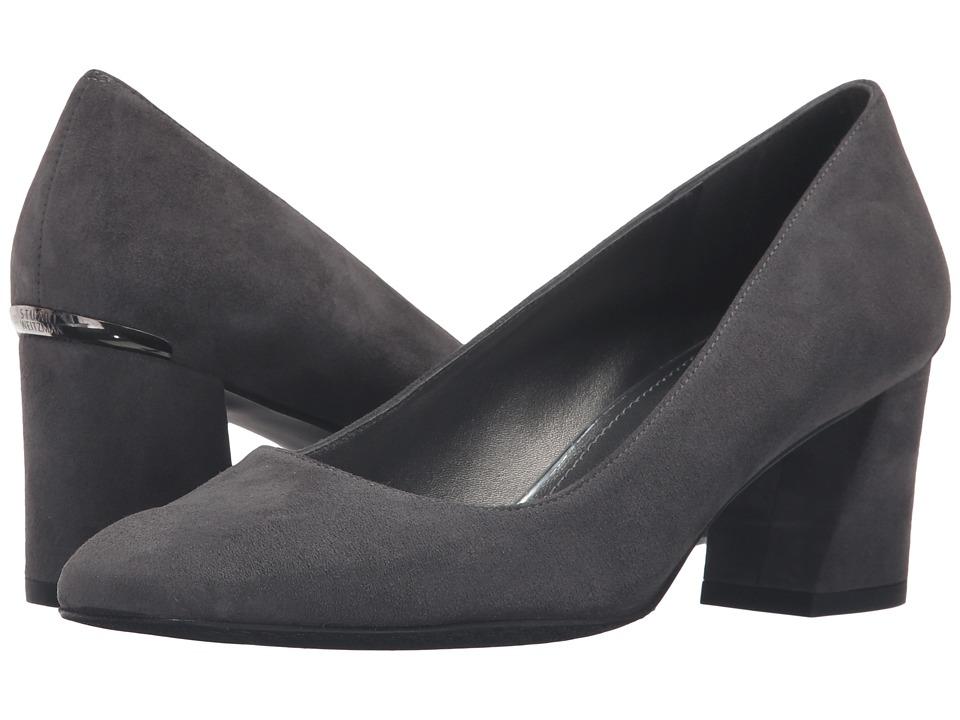 Stuart Weitzman - Marymid (Slate Suede) Women's Shoes