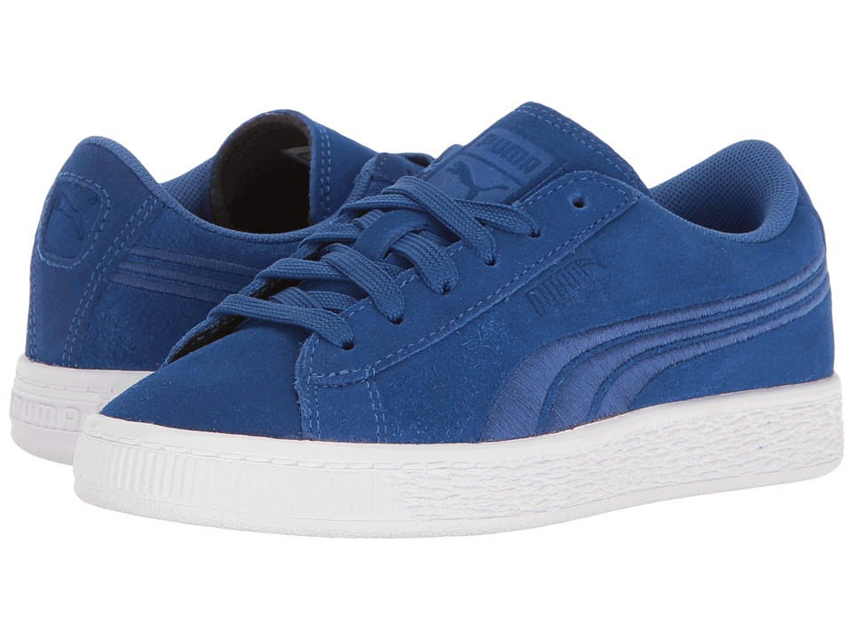 Puma Kids - Suede Classic Badge PS (Little Kid/Big Kid) (True Blue/True Blue) Boys Shoes
