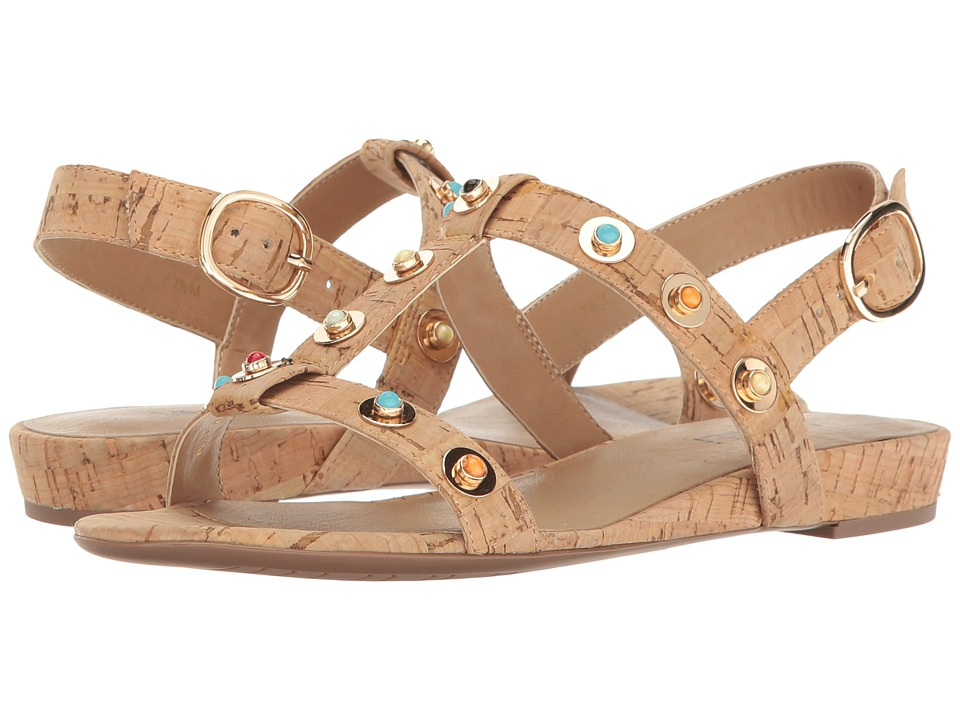 Vaneli - Bella (Natural Cork/Multi Stones) Women's Sandals