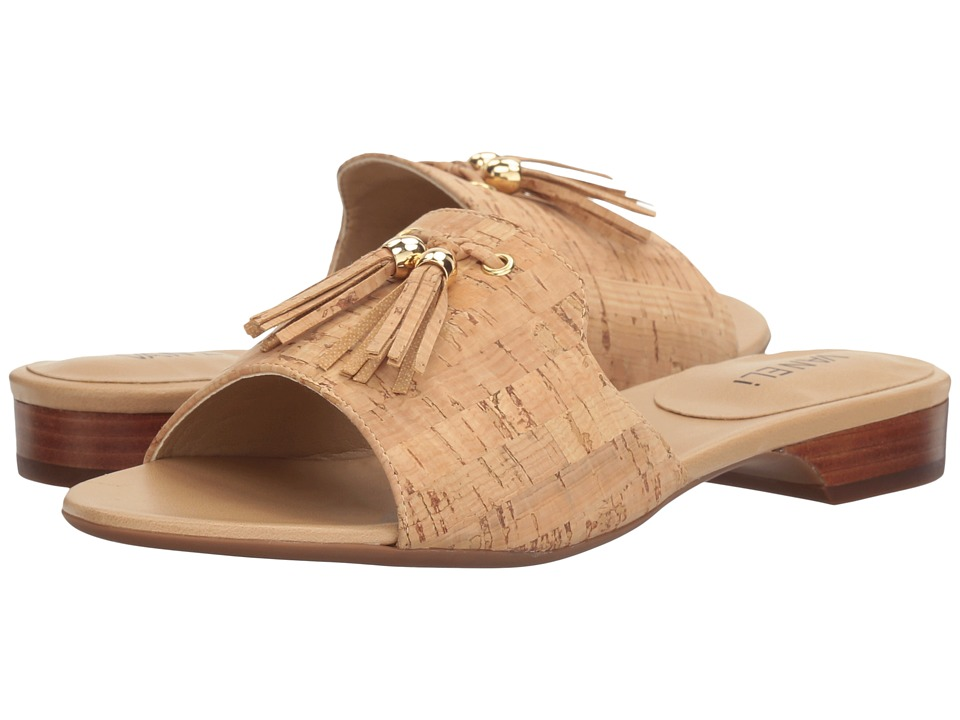Vaneli - Blizzi (Natural Cork/Gold Trim) Women's Dress Sandals