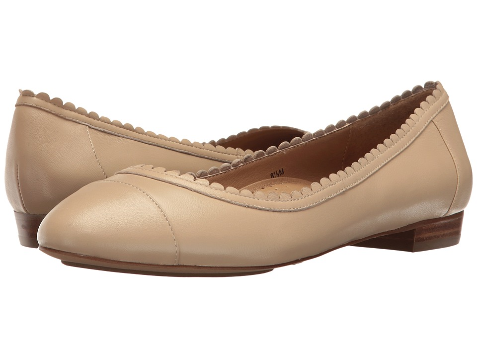 Vaneli - Cabot (Ecru Nappa) Women's Slip on Shoes