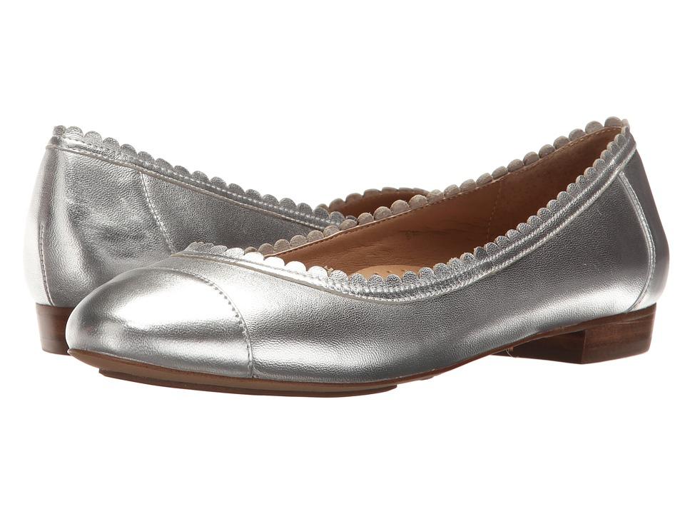 Vaneli - Cabot (Silver Metallic Nappa) Women's Slip on Shoes