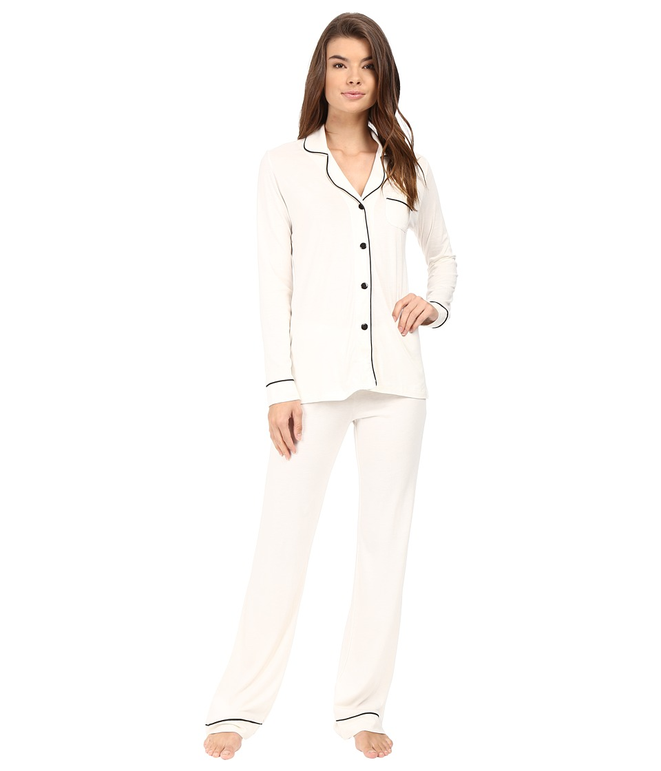Cosabella - Bella PJ (Ivory/Black) Women's Pajama Sets