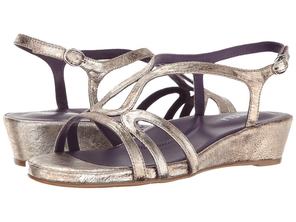 Vaneli - Daffy (Pale Platino Gesa/Silver Buckle) Women's Sandals