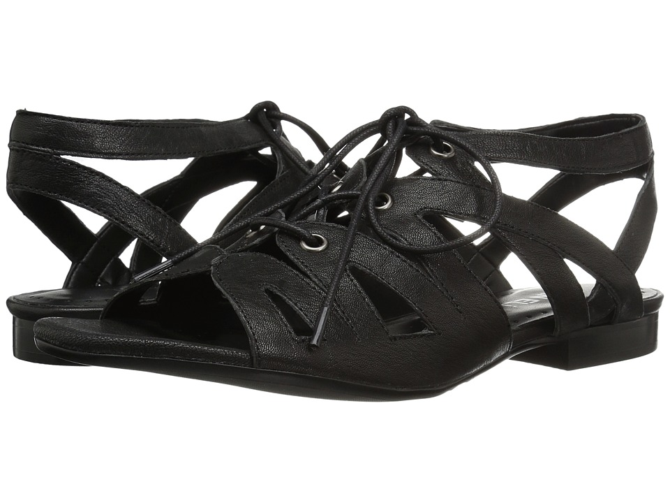 Vaneli - Edka (Black Trapper/Gunmetal Eyelets) Women's Sandals