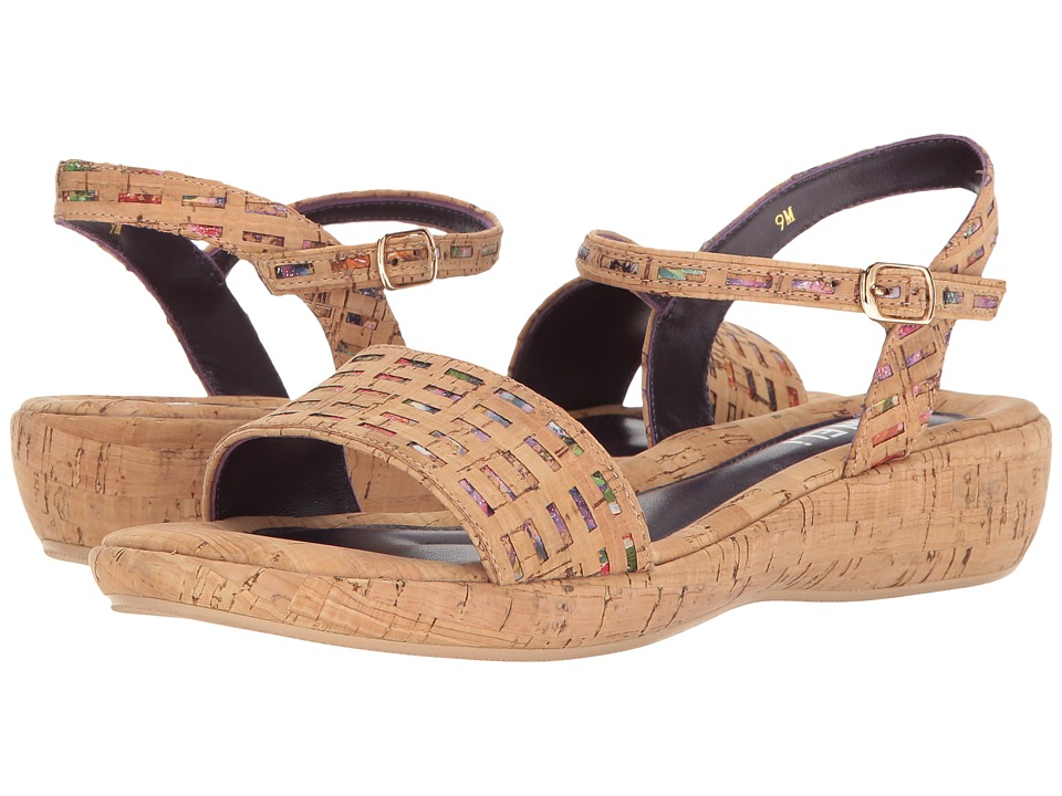Vaneli - Elayne (Multi Grata Cork/Natural Cork) Women's Sandals