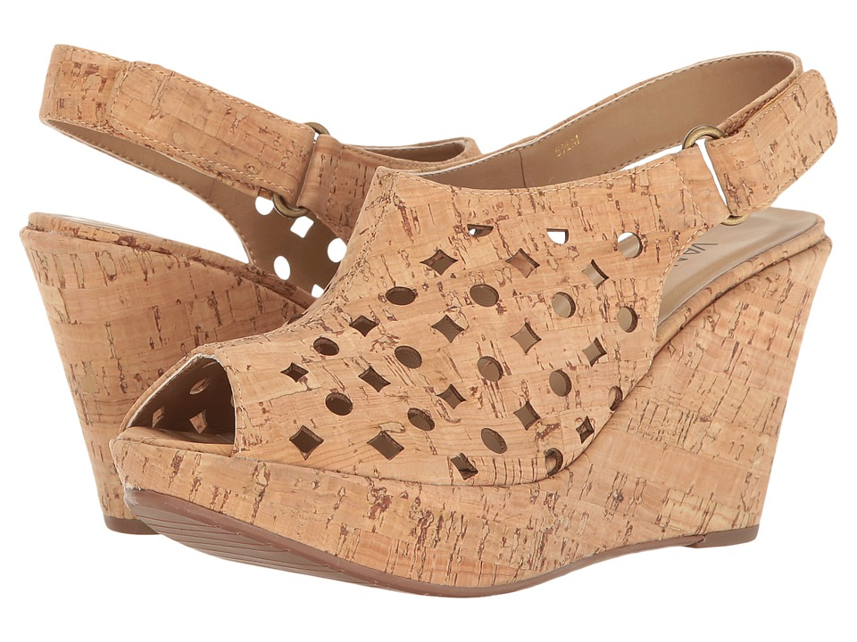 Vaneli - Elsie (Natural Cork) Women's Wedge Shoes
