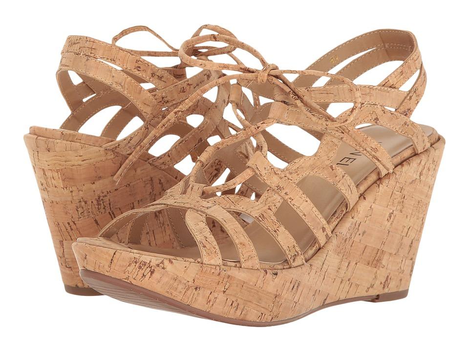 Vaneli - Elvera (Natural Cork) Women's Wedge Shoes