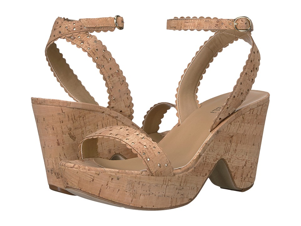 Vaneli - Ephie (Natural Cork/Platino Metallic Nappa) High Heels