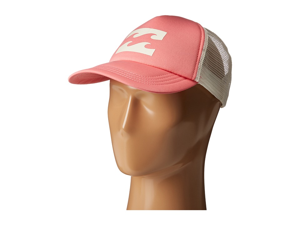 Billabong - Billabong Trucker Hat (Coral Shine) Caps