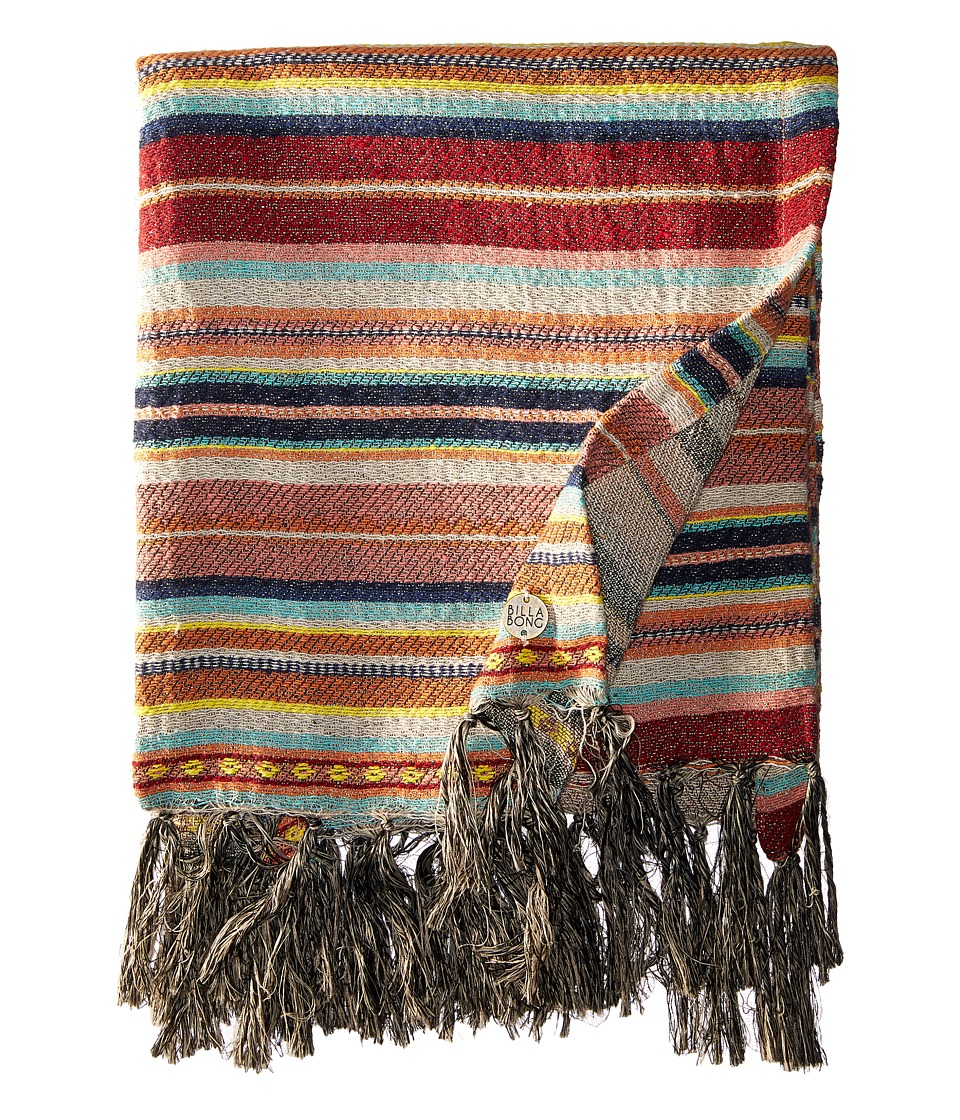 Billabong - Lakeside Blanket (Multi) Blankets