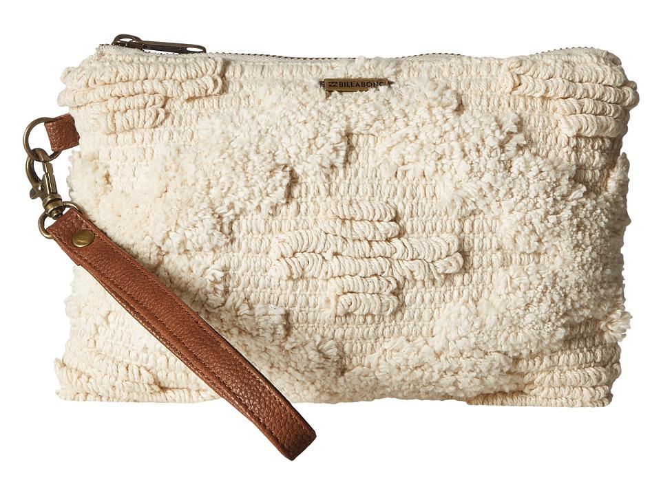 Billabong - Salty Water Wallet (White Cap) Clutch Handbags