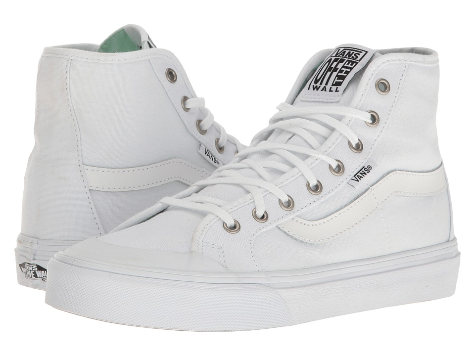 Vans - Black Ball Hi SF (True White) Women's Lace up casual Shoes