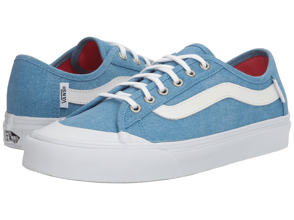 Vans - Black Ball SF ((Washed Canvas) Cendre Blue) Women's Lace up casual Shoes