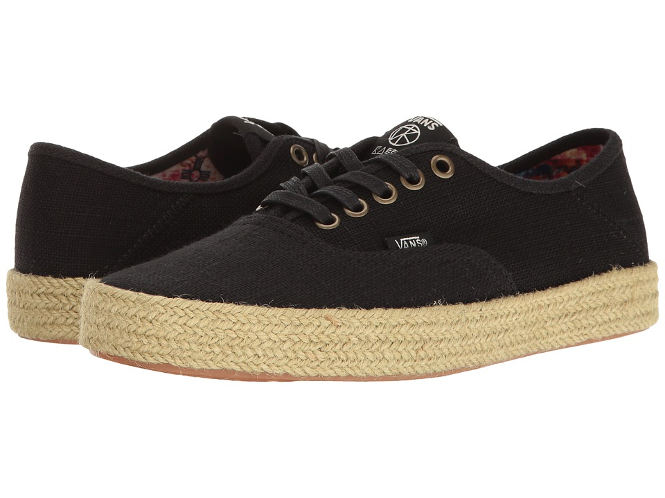 Vans - Authentic ESP ((Kassia) Black) Women's Lace up casual Shoes