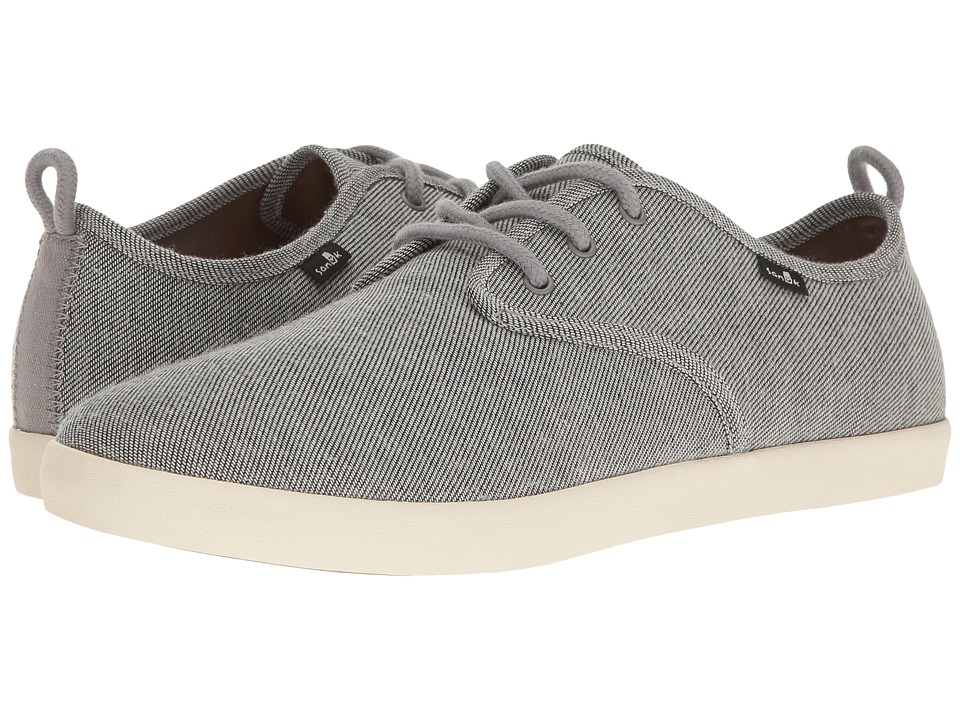 Sanuk - Guide TX (Grey/White) Men's Lace up casual Shoes
