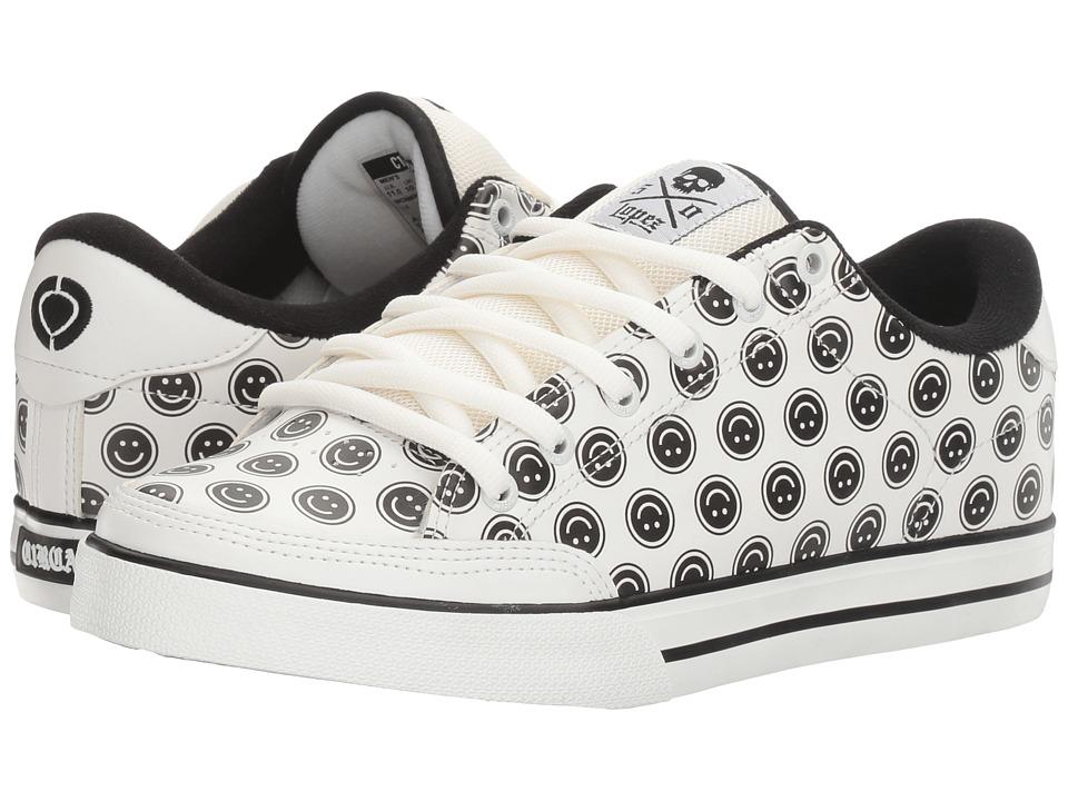 Circa - AL50 (White/Smiley) Men's Shoes