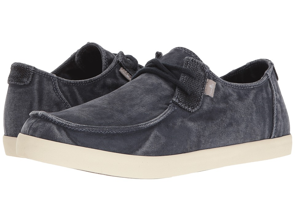 Sanuk - Nu-Nami (Washed Navy) Men's Lace up casual Shoes