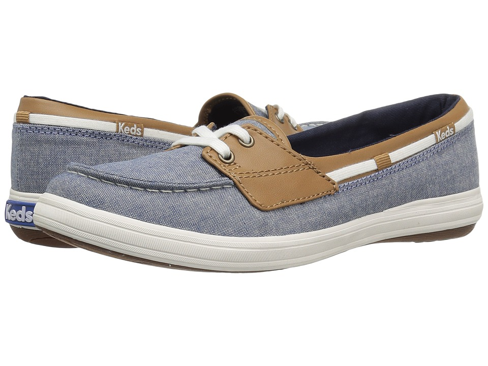 Keds - Glimmer (Dark Blue) Women's Lace up casual Shoes