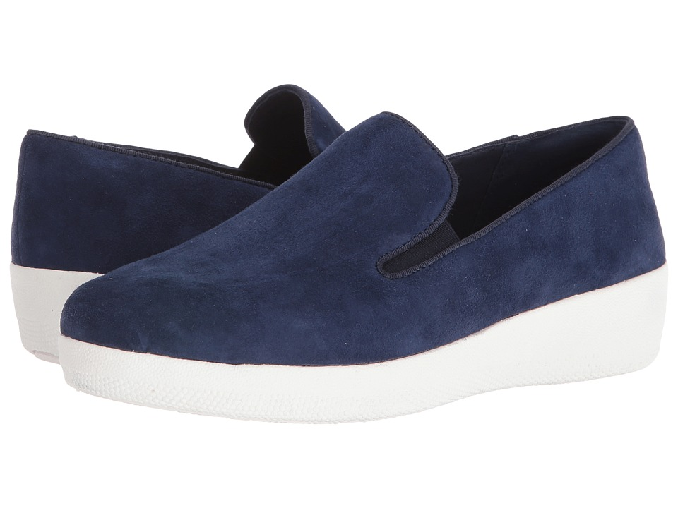 FitFlop - Superskate (Super Navy) Women's Clog/Mule Shoes