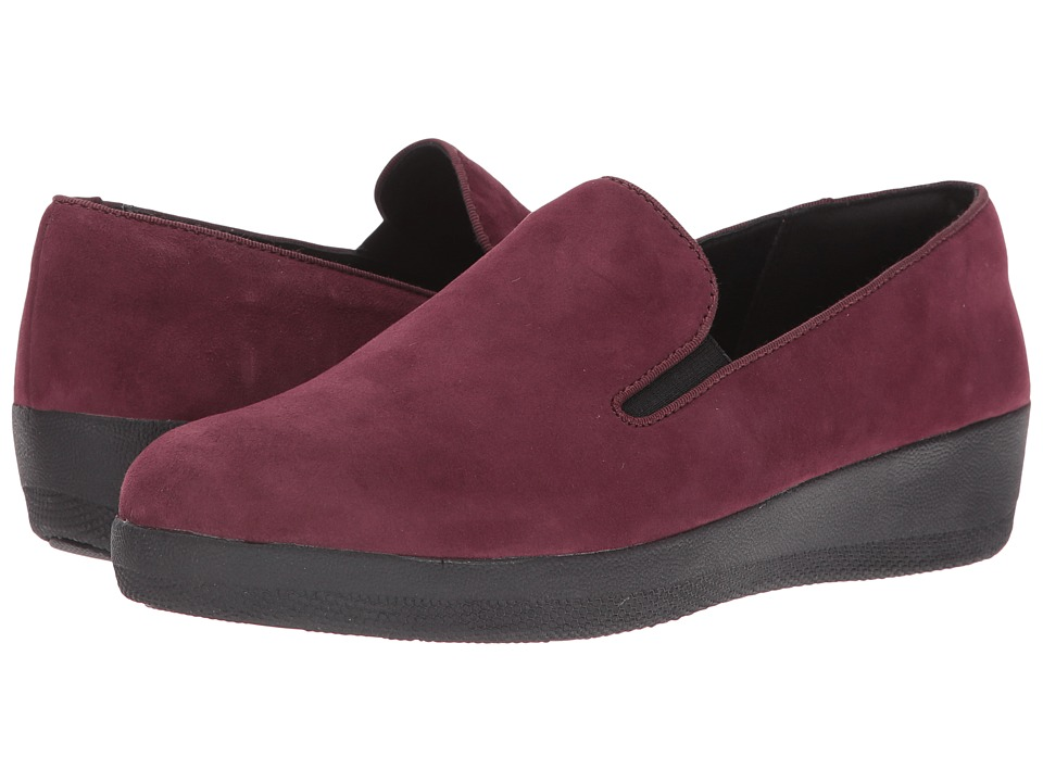 FitFlop - Superskate (Dark Cherry) Women's Clog/Mule Shoes