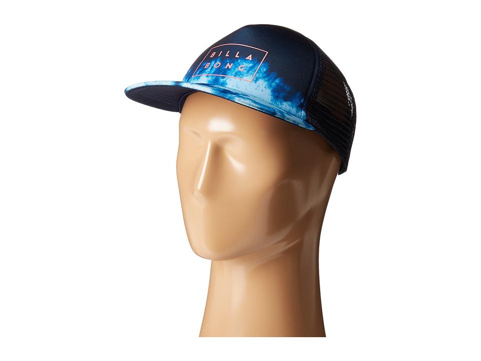 Billabong - Riot Trucker Hat (Navy) Caps