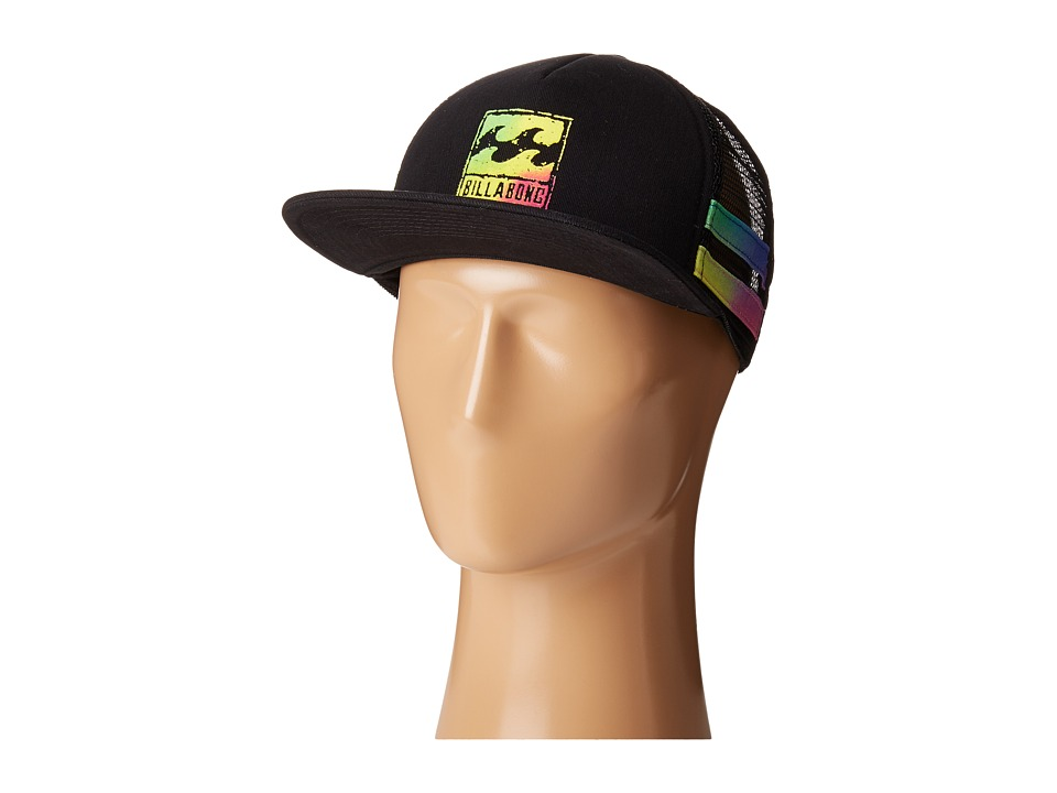 Billabong - Reissue Trucker Hat (Black) Caps