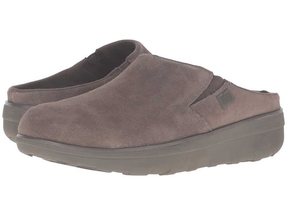 FitFlop - Loaff Suede Clogs (Bungee Cord) Women's Shoes