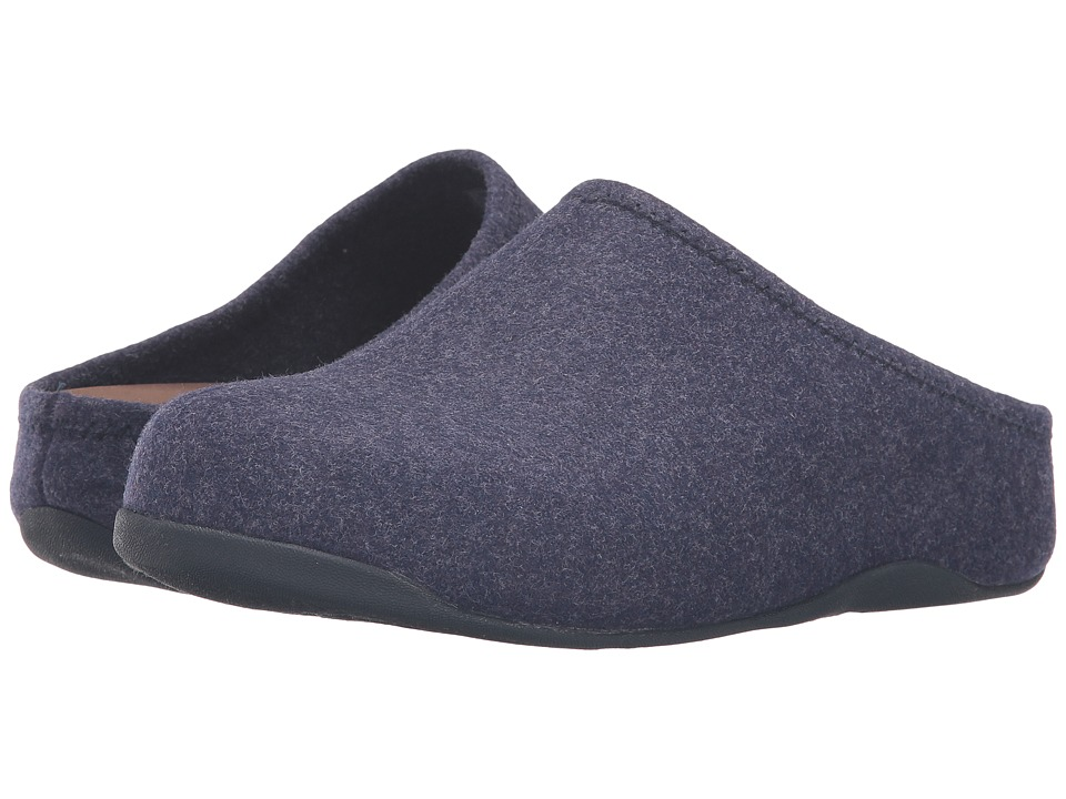 FitFlop - Shuv Felt (Super Navy) Women's Shoes