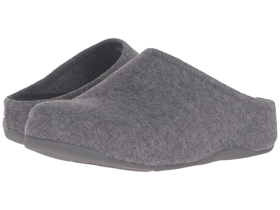 FitFlop - Shuv Felt (Light Grey) Women's Shoes