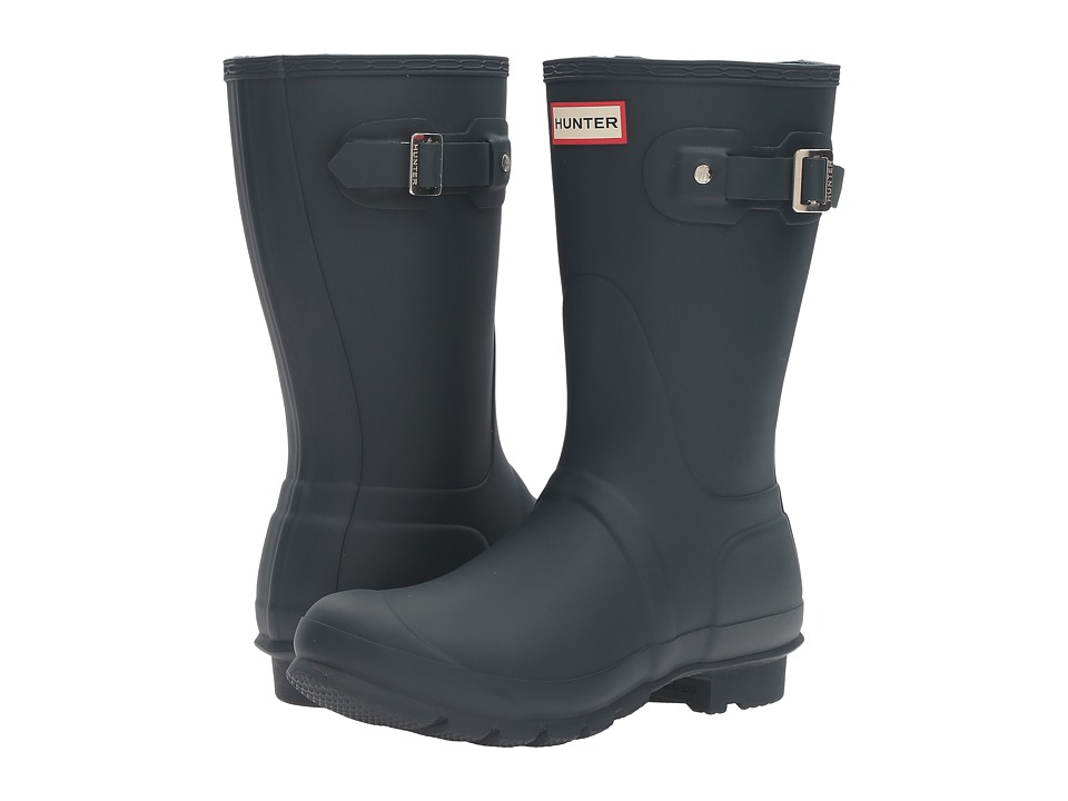Hunter - Original Short (Ocean) Women's Rain Boots
