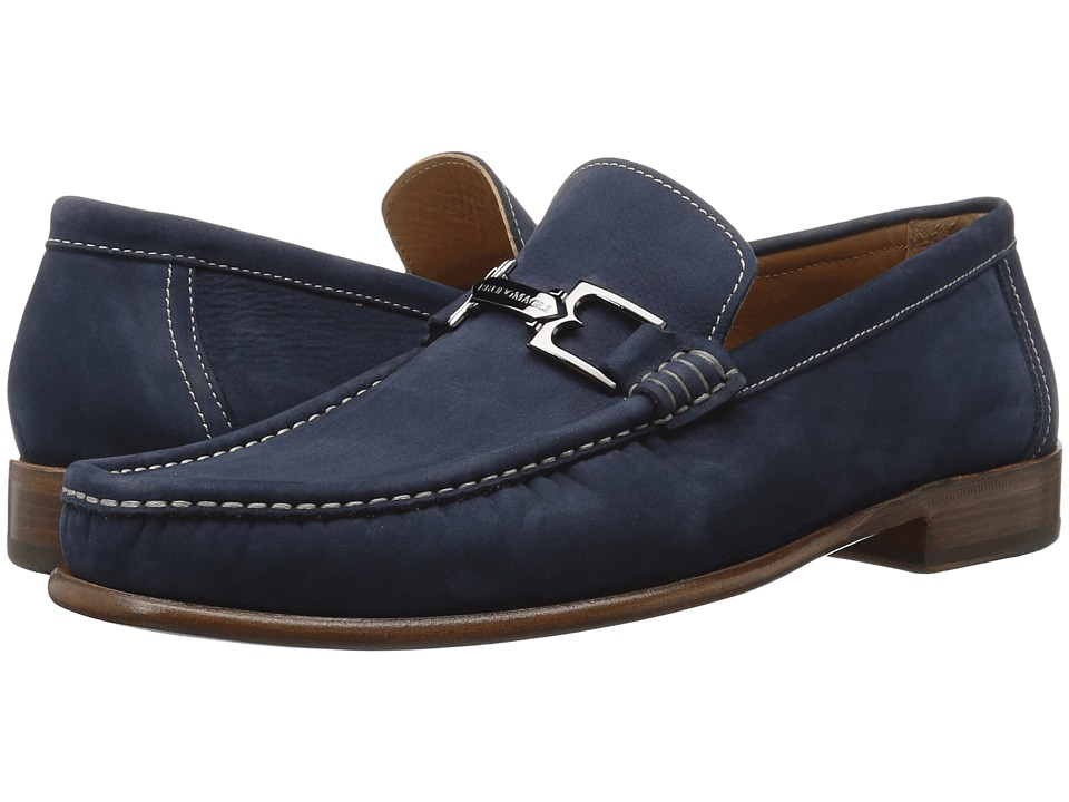 Bruno Magli Bigolo (Navy Nubuck) Men